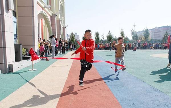 幼儿园接力赛