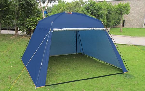 野外露营的遮阳蓬