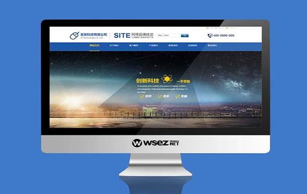 品牌型定制网站