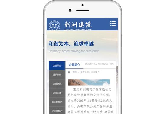 重庆新洲建筑工程有限公司【手机版】